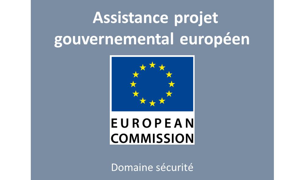 Assistance projet gouvernemental Europeen